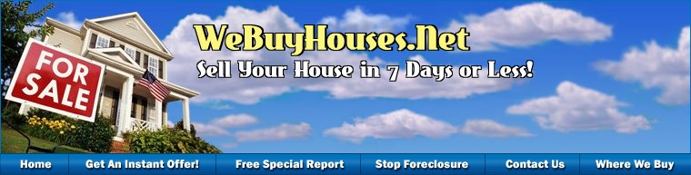 We Buy Houses - Sell Your House Fast